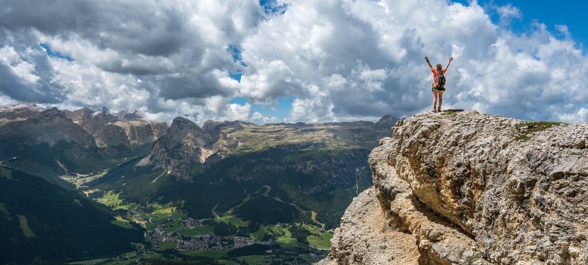 calorie camminata in montagna