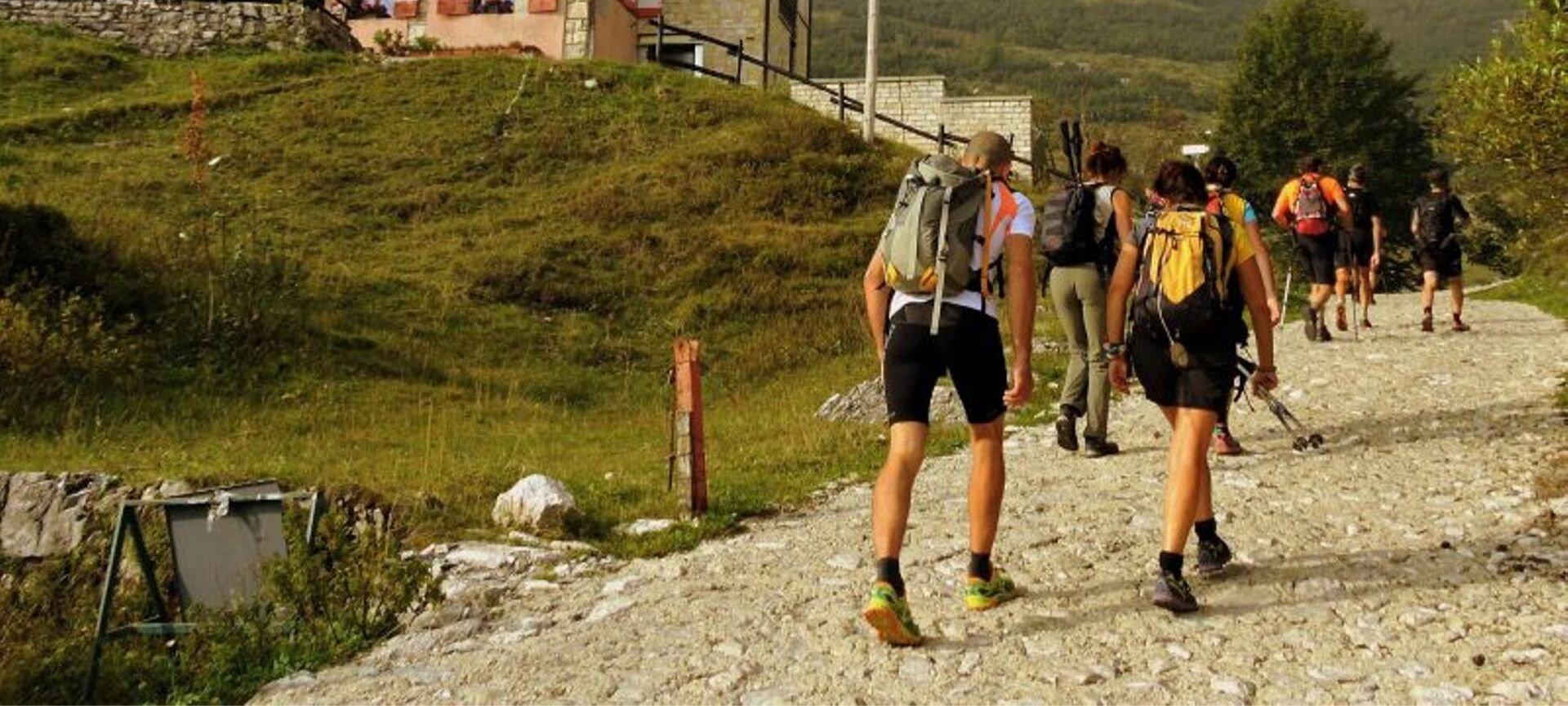 camminare in montagna calorie