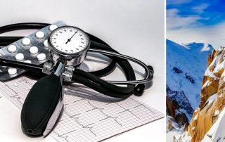 pressione alta e montagna