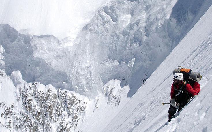 KARL UNTERKIRCHER: l'ultimo abbraccio della montagna
