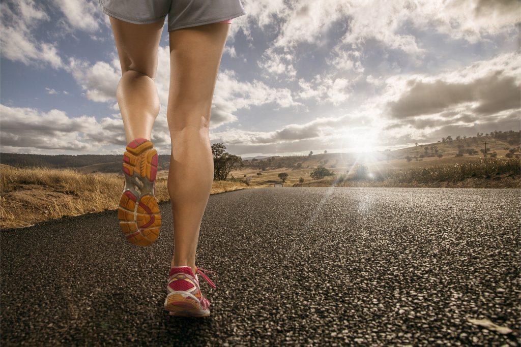 Camminata Veloce: rullata piede