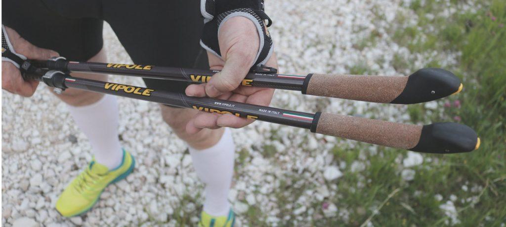 Attrezzatura Nordic Walking: bastoncini