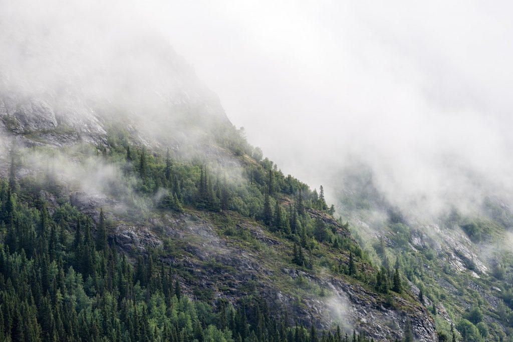 Altimetro Montagna: nebbia