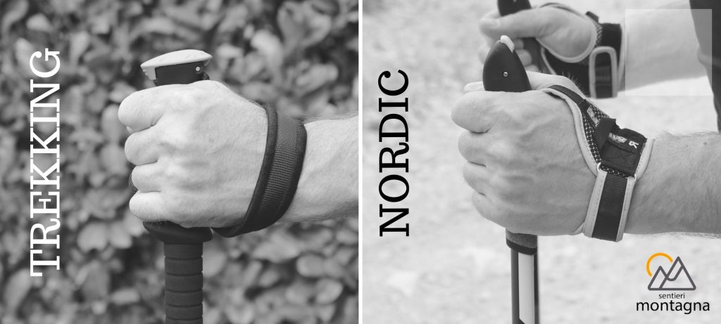 Bastoncini Nordic Walking o Trekking
