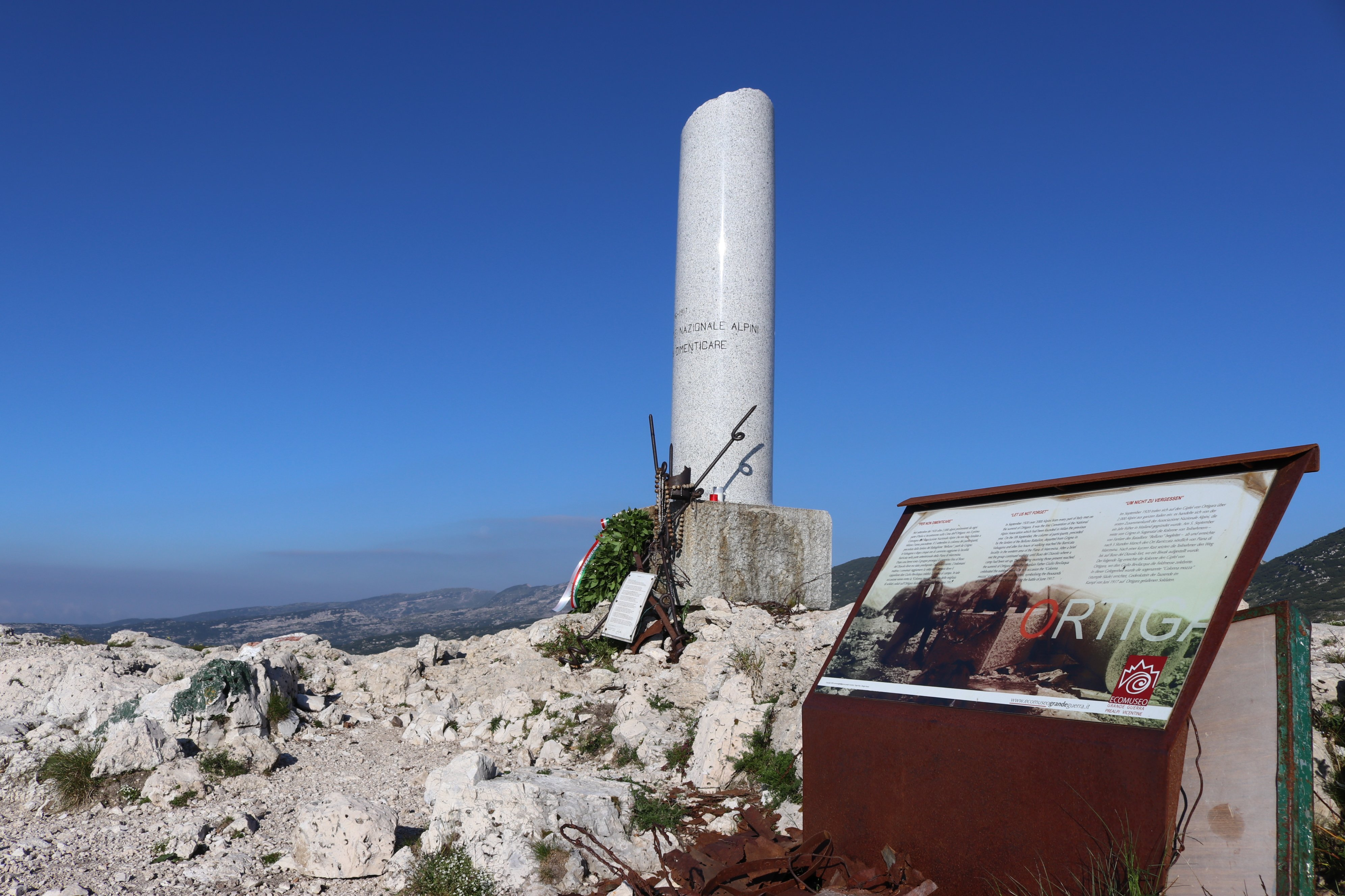 Monte Ortigara Escursioni