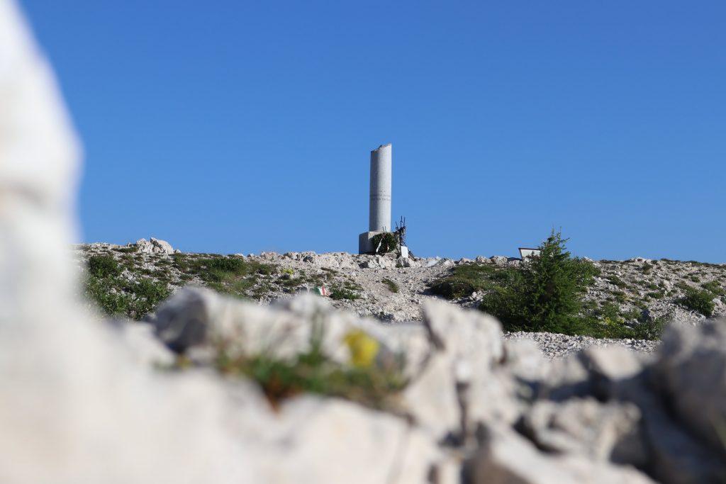 Monte Ortigara: cippo italiano