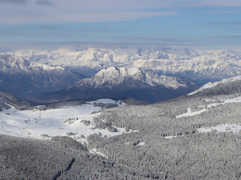 Monte Verena: panorama