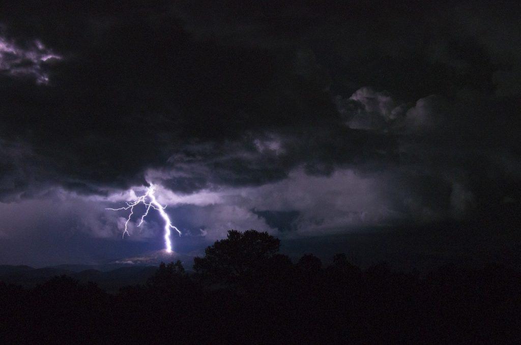 Pericolo Fulmini in Montagna