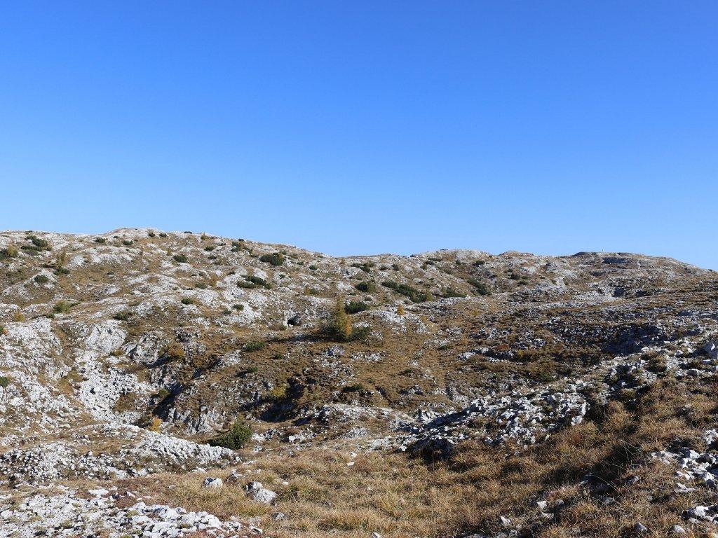 Monte Campigoletti: panorama