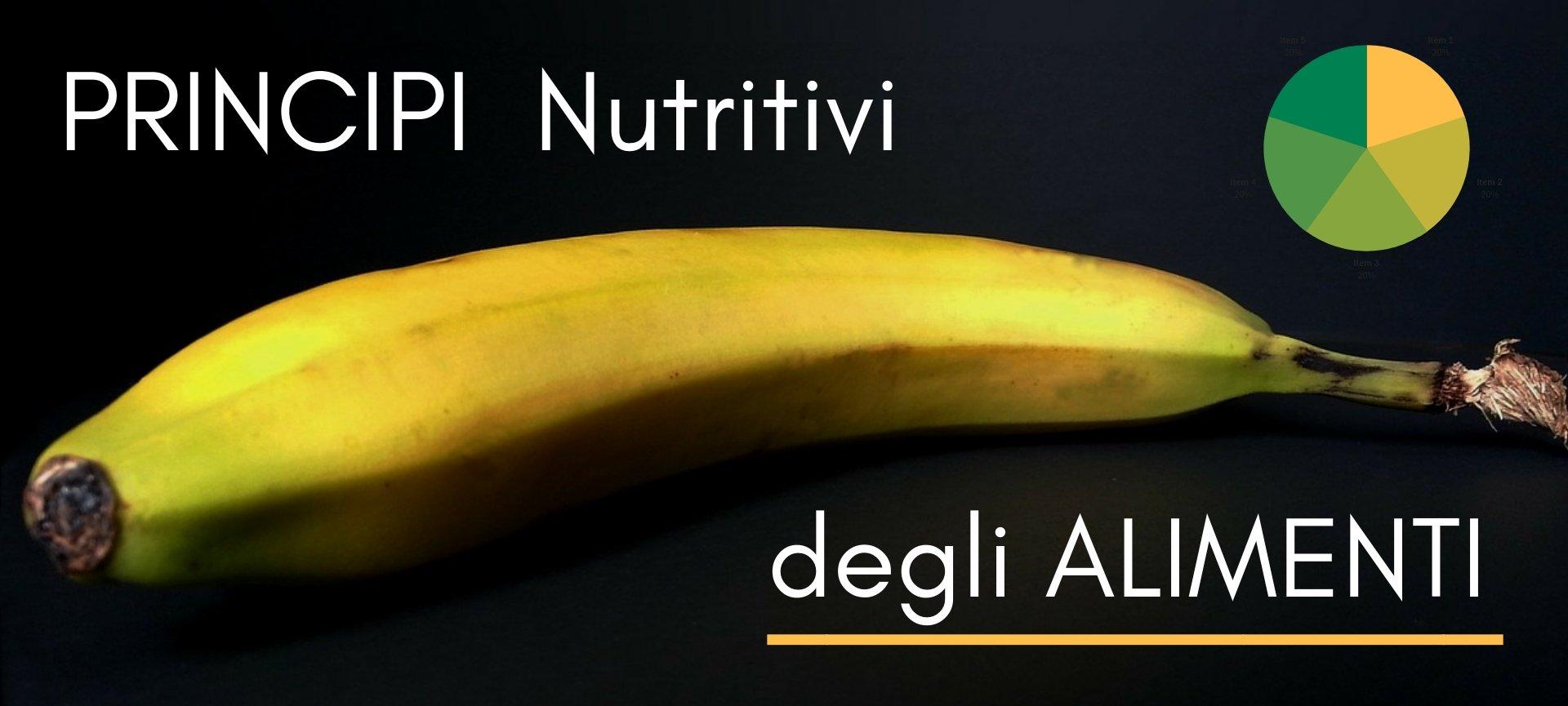 Principi Nutritivi degli Alimenti