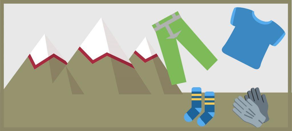 Camminare in Montagna: abbigliamento