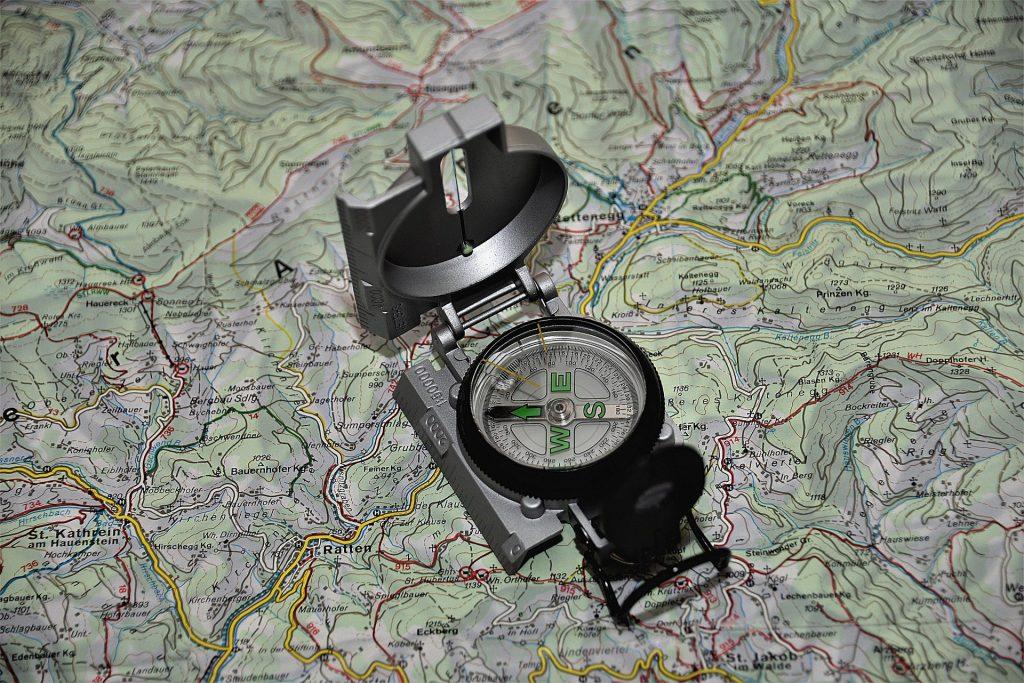 Camminare in Montagna: orientamento