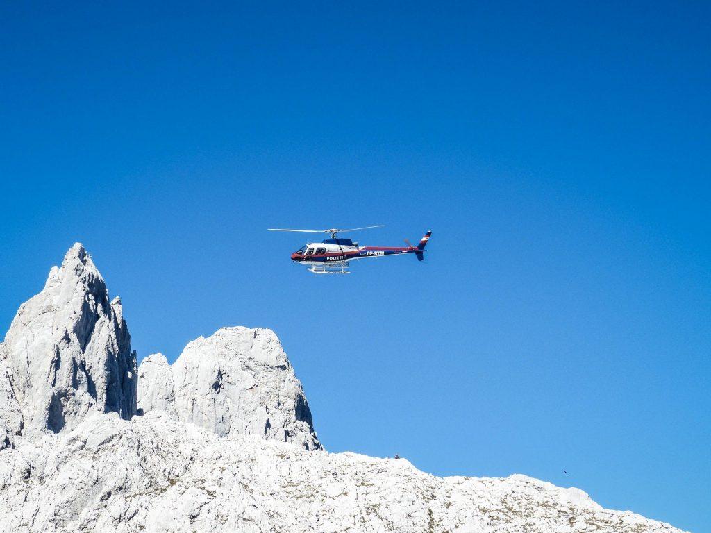 segnali soccorso terra aria in montagna