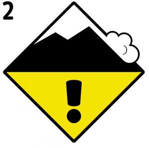 Scala Pericolo Valanghe: 2 Moderato