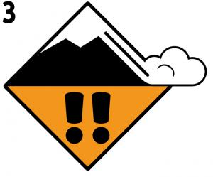 Scala Pericolo Valanghe: 3 Marcato