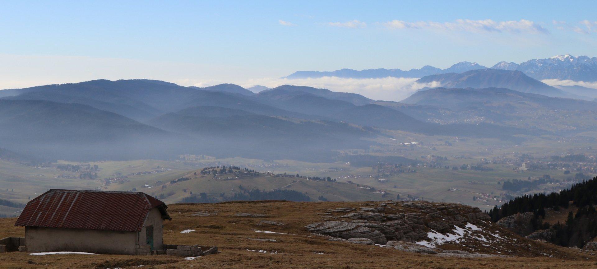 allenamento camminare montagna