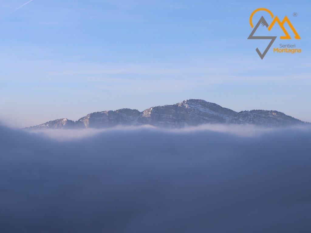 Monte Verena visto da Cima Portule