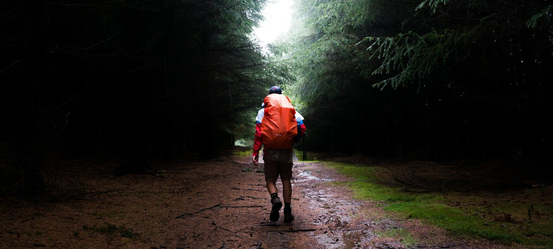 camminare sotto la pioggia fa bene