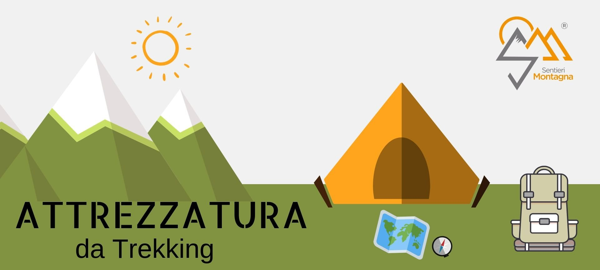 buy popular a5de4 98a3e ATTREZZATURA Trekking - Sentieri Montagna
