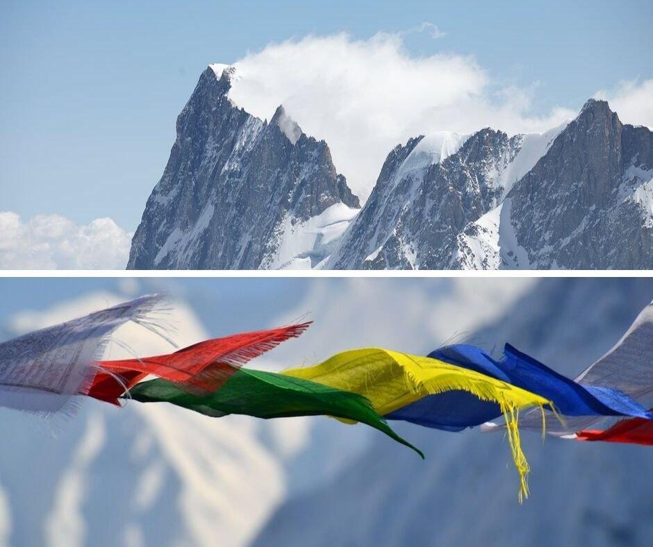capire il vento in montagna