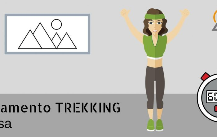 allenamento trekking in casa