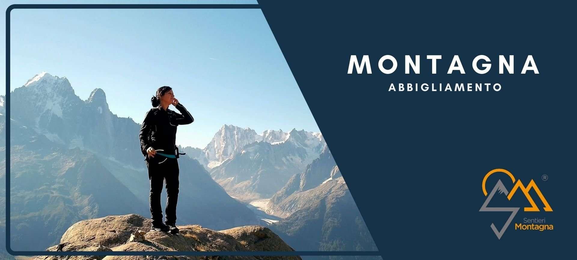 abbigliamento camminare in montagna