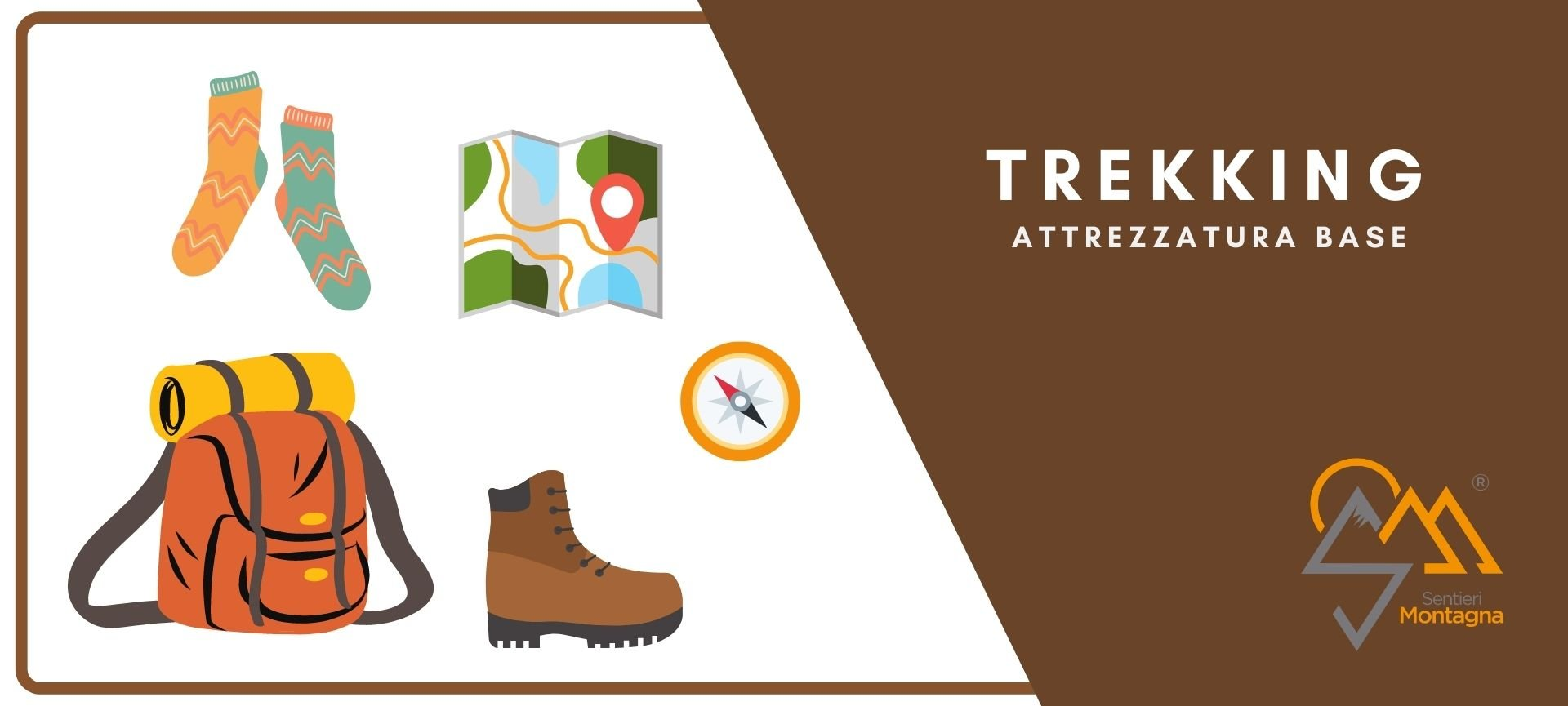 trekking attrezzatura base